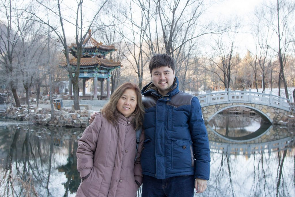 Outside the Benxi Water Caves