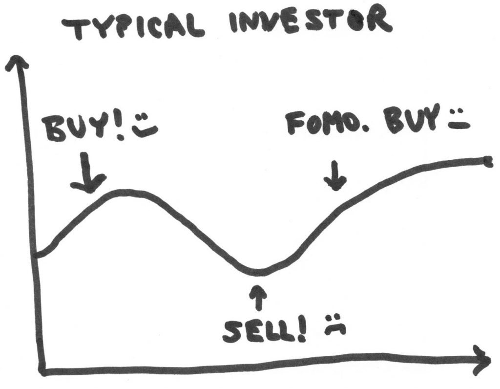 Typical investor graph